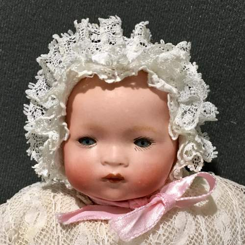 Late 19th Century Bisque Porcelain Baby Doll image-2