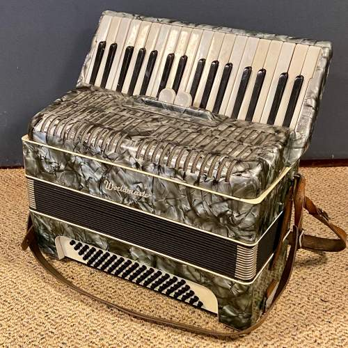 World Master Accordian and Case image-3