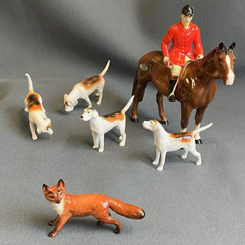 Beswick Hunting Group of Figures image-1
