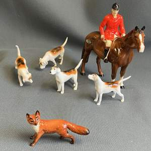 Beswick Hunting Group of Figures