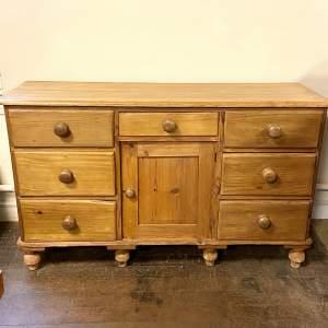 Victorian Pine Dresser Base