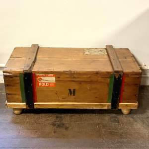 Early 20th Century Steamer Crate