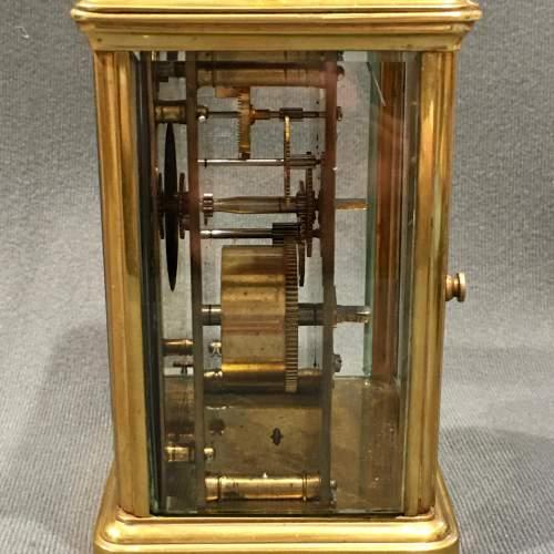 Oswin Paris Brass Cased Carriage Clock image-4