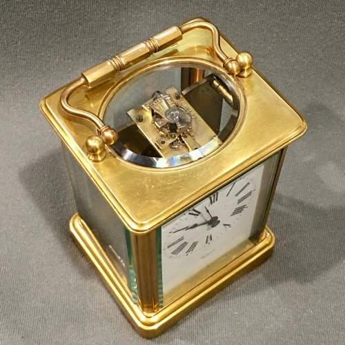 Oswin Paris Brass Cased Carriage Clock image-3