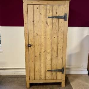 Rustic Pine Larder Cupboard