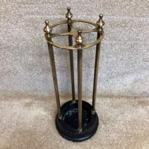 Circular Brass Stick Stand