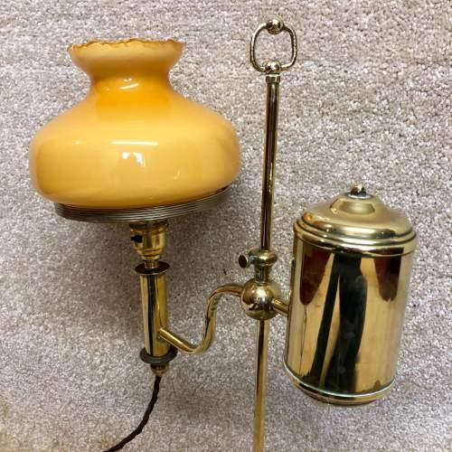 Victorian Brass Student Desk Lamp image-2