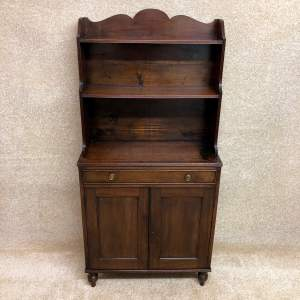 19th Century Side Cabinet With Shelves