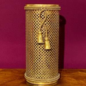 Decorative Brass Stick Stand