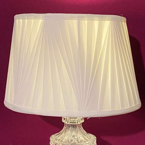 Decorative Pair of Glass Table Lamps image-4