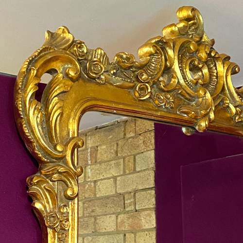 Very Large Rococo Style Mirror image-2