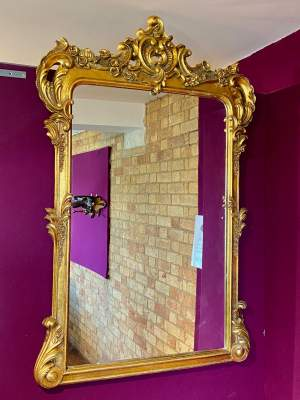 Very Large Rococo Style Mirror