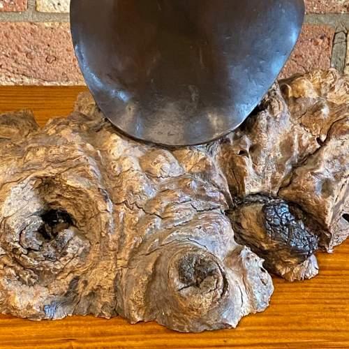 Large Cast Bronze Bust of an Edwardian Lady image-3
