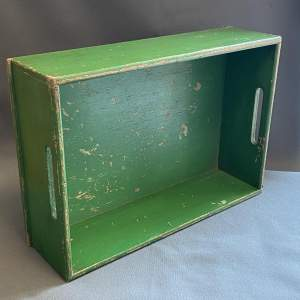 1930s Dutch Pine Rectangular Bulb Box