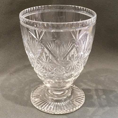 Webb Corbett Cut Crystal Vase image-1