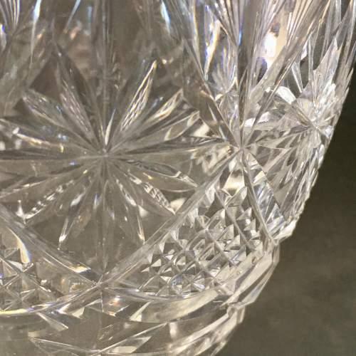 Webb Corbett Cut Crystal Vase image-2