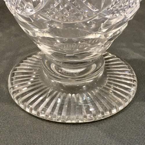 Webb Corbett Cut Crystal Vase image-3