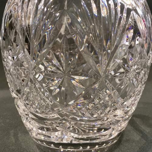 Royal Doulton Crystal Claret Jug by Webb Cordett image-3