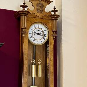 Gustav Becker 8-Day Vienna Wall Clock