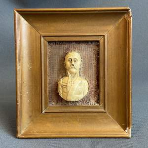 Rare Head and Shoulder Bust Miniature of Prince Michael