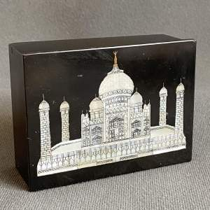 Fine Quality Mother of Pearl Inlaid Taj Mahal Box