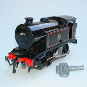 Hornby Clockwork 0 Gauge BR Tank Locomotive
