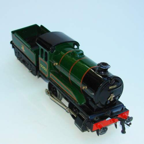 Hornby 0 gauge Locomotive & Tender No 501 and Boxes image-2