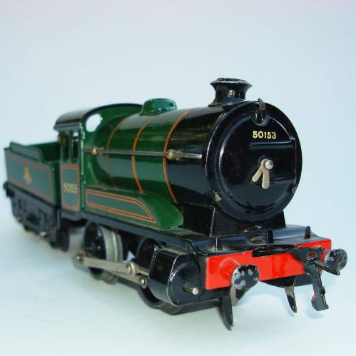 Hornby 0 gauge Locomotive & Tender No 501 and Boxes image-1