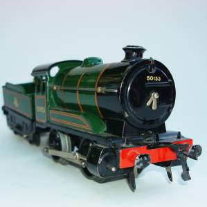 Hornby 0 gauge Locomotive & Tender No 501 and Boxes