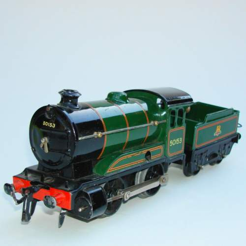 Hornby 0 gauge Locomotive & Tender No 501 and Boxes image-3