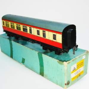 Bassett Lowke 3rd Class British Rail Brake Carriage and Box