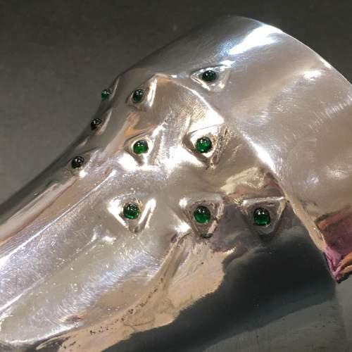 Art Nouveau Osiris Pewter Beaker image-2