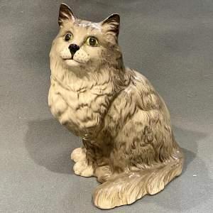 Mid 20th Century Beswick Cat