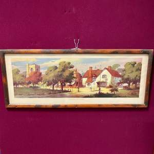 Harpenden Hertfordshire Original Vintage Carriage Print