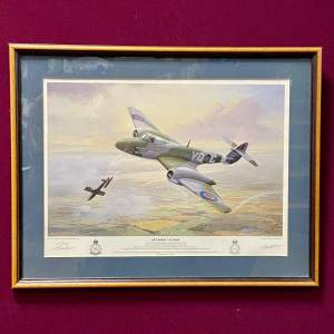 Tom Marchant Signed Print Meteoric Victory