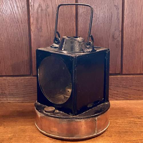 British Railways Western Region GWR Pattern Signal Lamp image-1