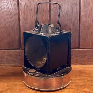 British Railways Western Region GWR Pattern Signal Lamp