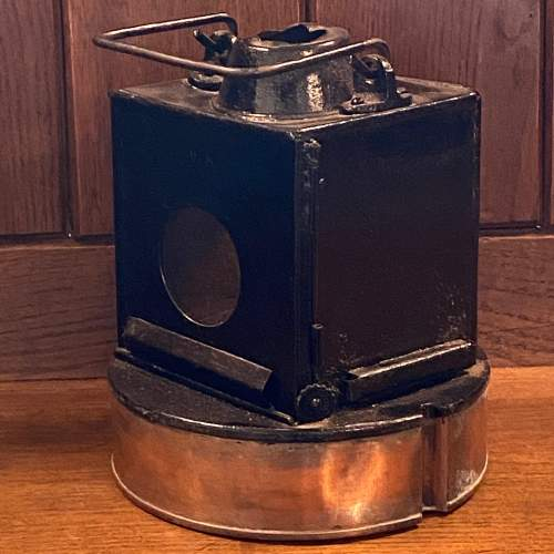 British Railways Western Region GWR Pattern Signal Lamp image-2