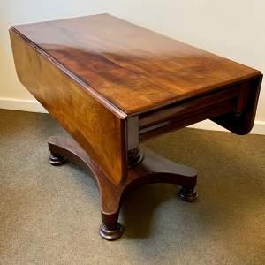 Victorian Solid Mahogany Drop Leaf Table