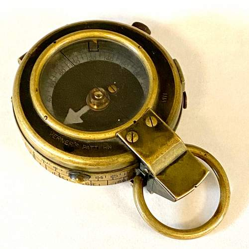 Early 20th Century Verners Pattern Officers Compass image-1