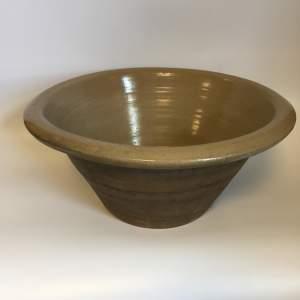 19th Century Stoneware Pancheon