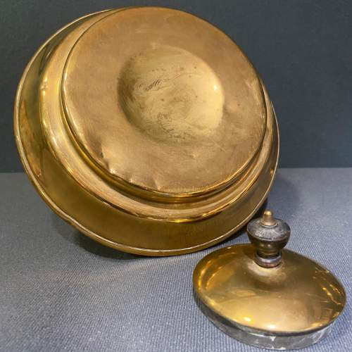 Arts and Crafts Brass Spirit Kettle image-3
