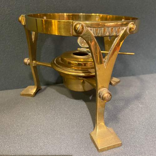 Arts and Crafts Brass Spirit Kettle image-4