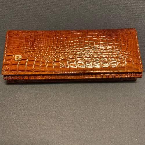 Vintage Crocodile Clutch Bag image-1