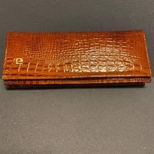 Vintage Crocodile Clutch Bag