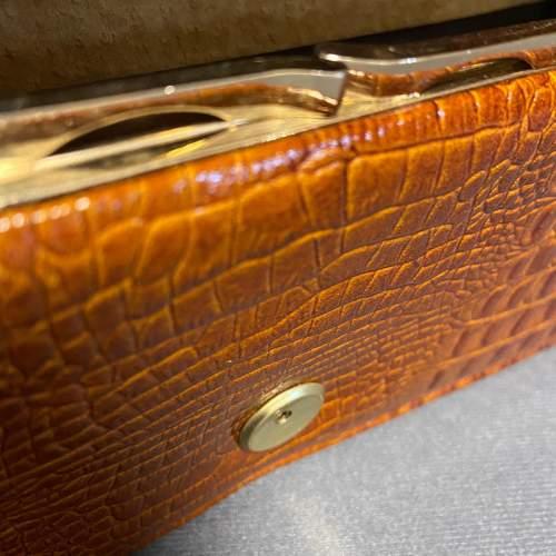 Vintage Crocodile Clutch Bag image-6