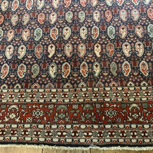 Superb Quality Hand Knotted Persian Rug Qum In Repeating Botech image-2