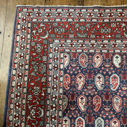 Superb Quality Hand Knotted Persian Rug Qum In Repeating Botech image-3