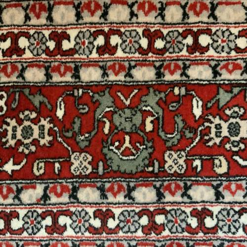 Superb Quality Hand Knotted Persian Rug Qum In Repeating Botech image-6