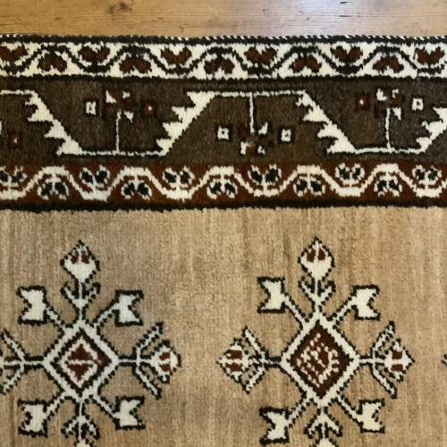 Old Hand Knotted Afghan Village Rug Very Unusual Piece Superb image-6